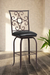 Glen Rich-Looking Swivel Counter Stool by Wesley Allen