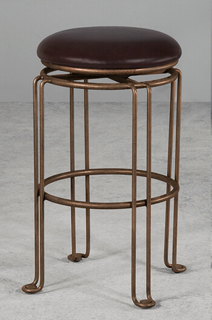 Wesley Allen's Holly Backless Swivel Stool