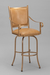 Lennon Swivel Luxury Bar Stool with Arms