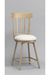 Santa Monica Swivel Counter Stool for Transitional Kitchens