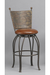 Woodland Swivel Bar Stool for Rustic or European Kitchens