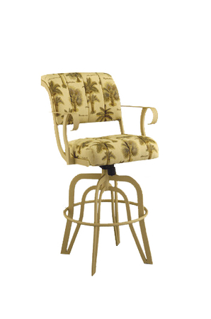 #2535 Tilt Swivel Stool