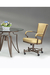 Rocking Tilt Swivel Dining Chair with Arms