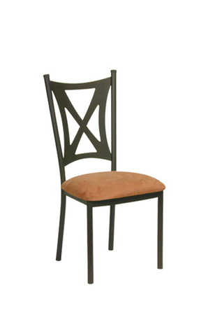Trica Aramis Dining Chair with Cross Back Design on Back