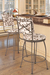 Trica Bill Swivel Stool for Traditional Kitchens