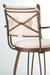 Trica Bill 2 Swivel Stool with Cross Back Design