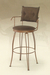 Trica Bill 2 Swivel Stool with Upholstered Seat and Back