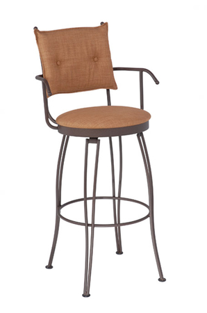 Trica Bill 2 Swivel Stool with Arms
