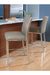 Trica Biscaro Stool to Match Stainless Steel Appliances
