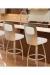 Trica Calvin Swivel Stool for Modern Kitchens
