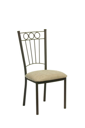 Trica Charles Dining Chair with High Backrest