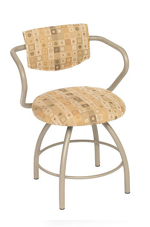 Trica Cookie Cafe Vanity Chair for Modern Bathrooms