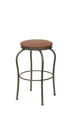 Trica Fred Backless Swivel Stool