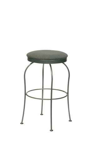 Trica Kim Backless Swivel Stool
