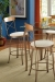 Trica's Laura Bar Stools in Dining Room near Pub Table