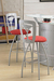 Trica Martini Swivel Stool for Modern Home Bars