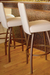 Trica Nicholas Swivel Stool for Modern Kitchens