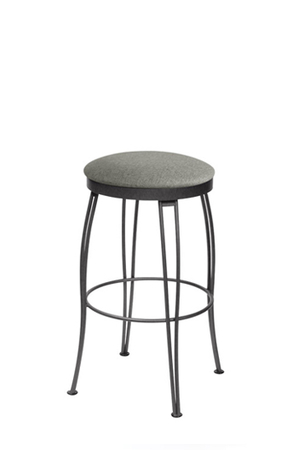 Trica Pat Backless Swivel Stool