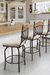 Trica Raphael 1 Swivel Stool in Traditional Kitchen