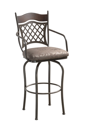 Trica Raphael 2 Swivel Stool with Arms