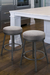 Trica Sal Backless Swivel Stool with Comfortable Round Seating