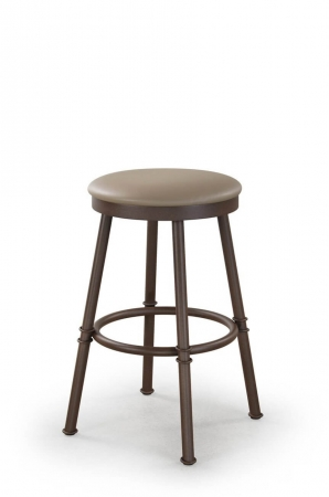 """Metal Finish: Golden Brown • Seat Cushion: Discontinued • Height: 30"""""""