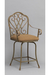 Dallas Swivel Counter Stool with Arms by Wesley Allen