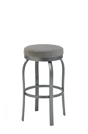 Trica Truffle Backless Swivel Stool