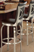 Trica Tuscany 1 Swivel Stool in Modern Kitchen