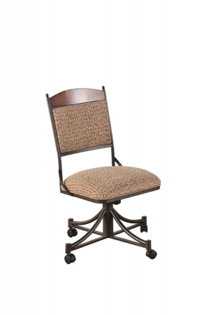 Callee Madena Tilt Swivel Dining Chair with No Arms