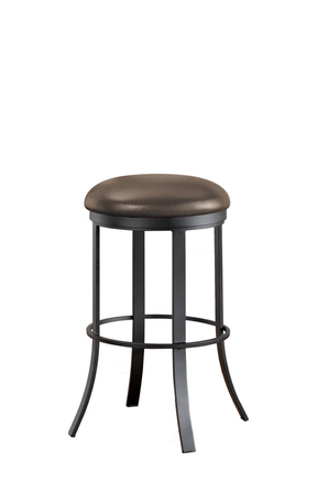 Bailey Backless Swivel Bar Stool for Modern Kitchens