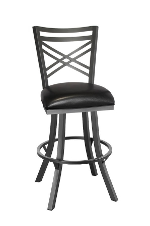 Rachel Swivel Stool With Back