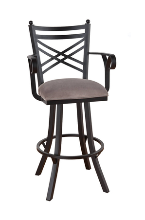 Callee Rochester Swivel Stool with Arms