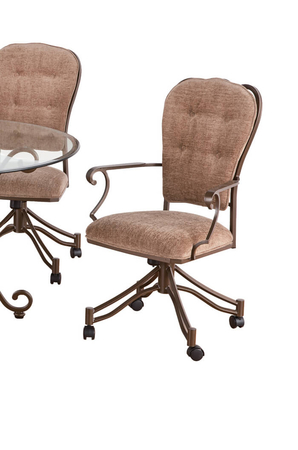 Callee Valencia Tilt Swivel Dining Chair with Arms