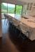 Amisco's Easton Swivel Bar Stools in Modern Kitchen