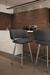 Amisco Easton Swivel Stool in Modern Kitchen