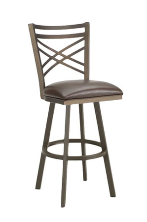 Callee Rebecca Swivel Stool with Straight Legs