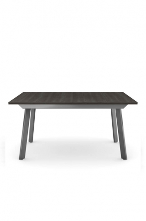 Amisco Nexus Extendable Dining Table with Dark Wood Top