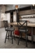 Amisco Kent Swivel Stool in Modern Industrial Kitchen