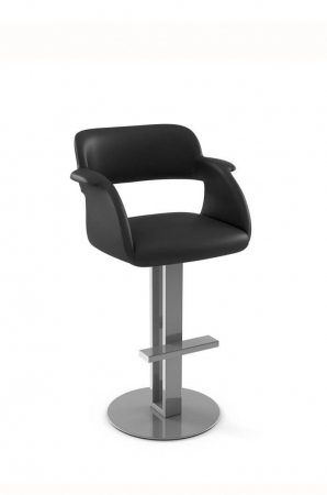 Amisco Positano Swivel Stool, Cutting-Edge Design