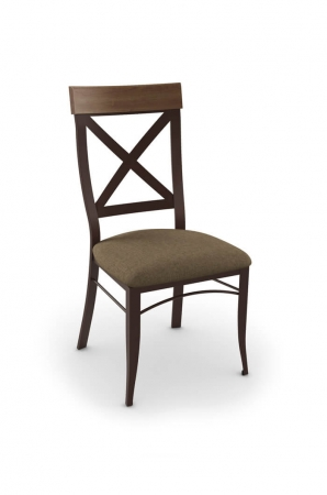 Amisco Kyle Dining Chair with Cross Back Design