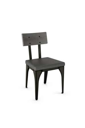 Amisco Architect Dining Chair with Wood Back