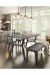 Amisco Architect Dining Chair in Industrial Dining Room