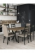 Amisco's Owen Brown Dining Chairs in Industrial Dining Room