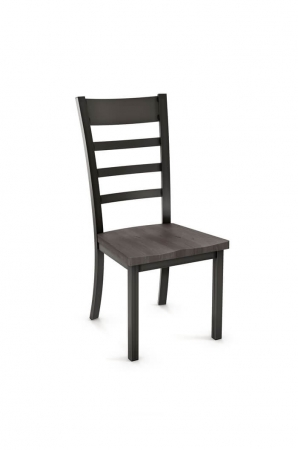 Amisco Owen Dining Chair with Wood Seat
