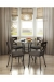 Amisco's Marcus Dining Chairs in Traditional Dining Room