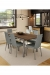 Amisco Linea Comfortable Modern Dining Chair