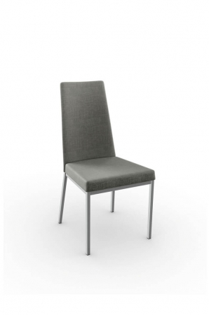Amisco Linea Dining Chair with Tall Upholstered Back