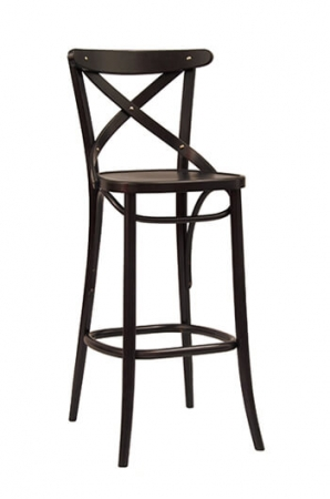 Bentwood No 150 Barstool 30 Quot Black Natural White