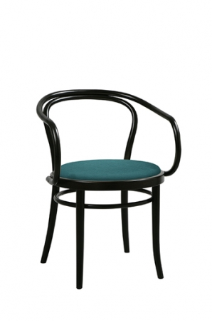 Grand Rapids Bentwood No. 30 Armchair with Seat Cushion